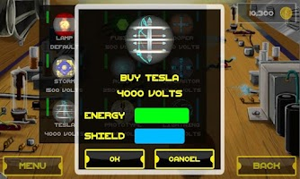 Screenshot of Jumping Electron HD