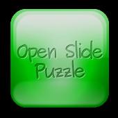 Open slide puzzle