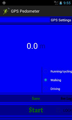 GPS Pedometer Walk Run Keeper