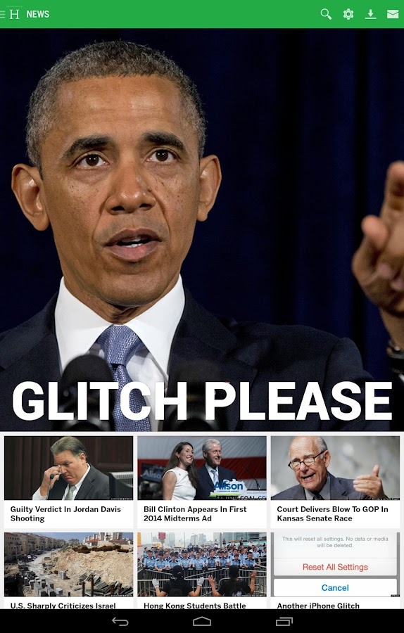 Huffington Post - screenshot