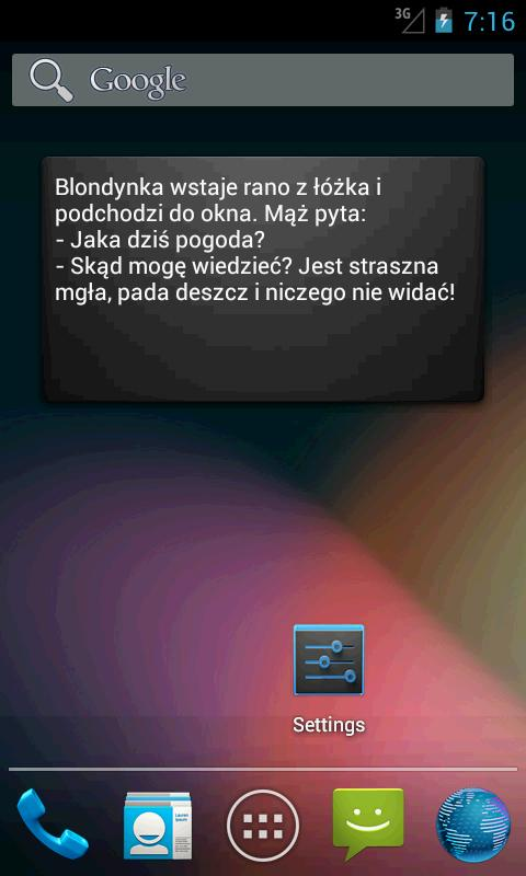 Kawały - screenshot