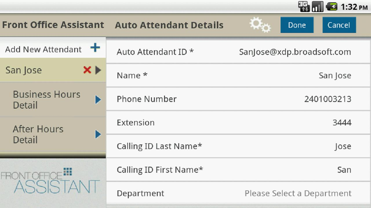 Front Office Assistant - screenshot