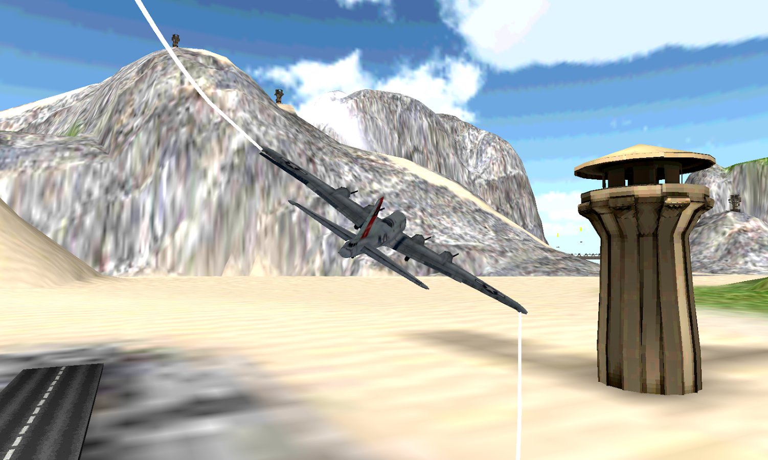FLIGHT SIMULATOR: War Plane 3D- screenshot