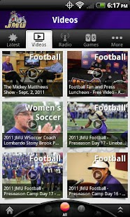 JMU Dukes - screenshot thumbnail