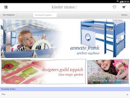 Screenshot of kinder räume ag