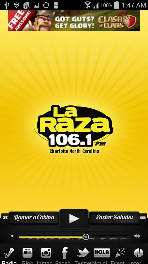 La Raza 106.1 FM - screenshot