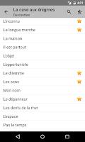 Screenshot of La cave aux enigmes