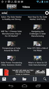Renewable Energy World- screenshot thumbnail