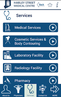 Harley Street Medical Centre- screenshot thumbnail