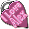 I Love Alex logo