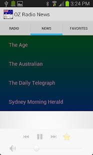 OZ Radio News - screenshot thumbnail