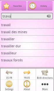 玩書籍App|Spanish French Dictionary Free免費|APP試玩