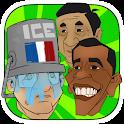 Ice bucket challenge president icon