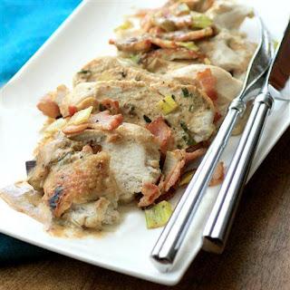 Chicken Bacon Leek Casserole #WeekdaySupper