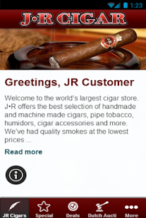 JR Cigars - screenshot thumbnail