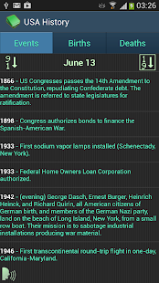 This Day In History - screenshot thumbnail