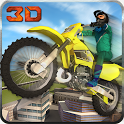 City Bike Roof Jump Stunt Sim icon