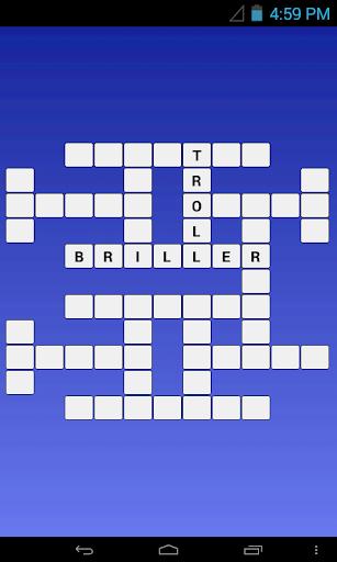 French - Arabic Crossword