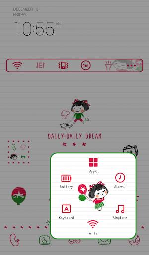 玩免費個人化APP|下載데일리데일리 드림 도돌런처 테마 app不用錢|硬是要APP