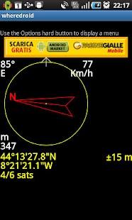 wheredroid- screenshot thumbnail