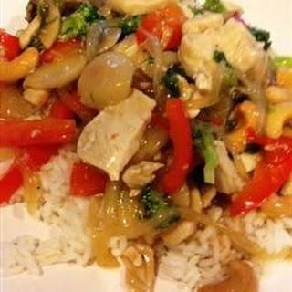 Garlic Chicken Stir Fry.