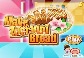 Screenshot of Make Zucchini Bread