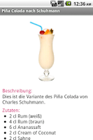 Screenshot of Cocktail