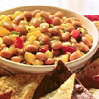 Homemade Apricot Salsa With Beans