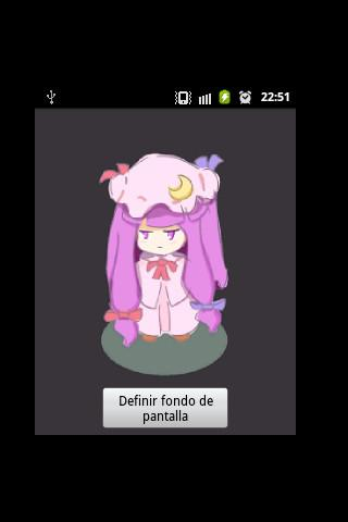 Patchouli LiveWallPaper