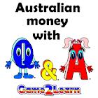 Australian money with Q&A icon
