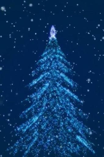 New Year Tree 3D Wallpaper
