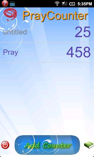 Pray Counter