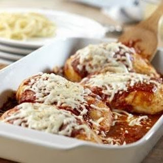 Quick Chicken Parmesan.