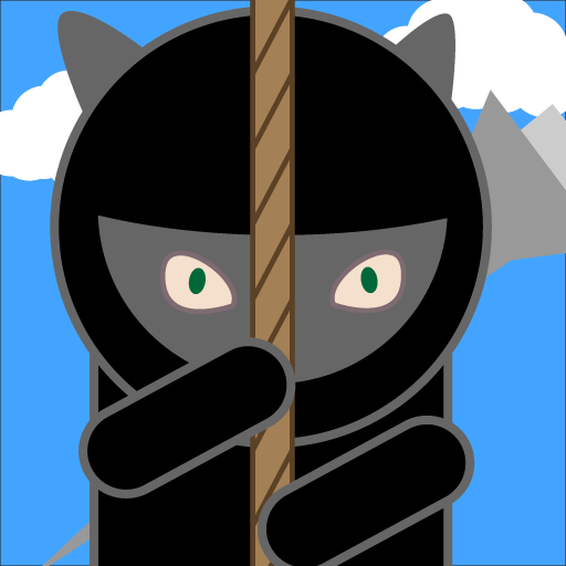 Ninja Kitty Rope Climb LOGO-APP點子