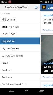 Las Cruces Sun News - screenshot thumbnail