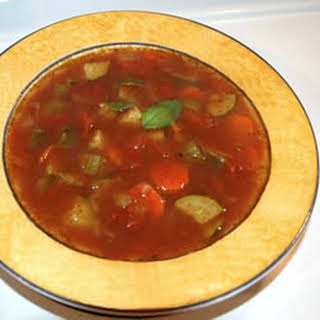 Quick Italian Vegetable Soup.