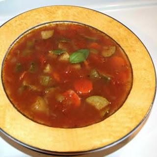 Quick Italian Vegetable Soup.