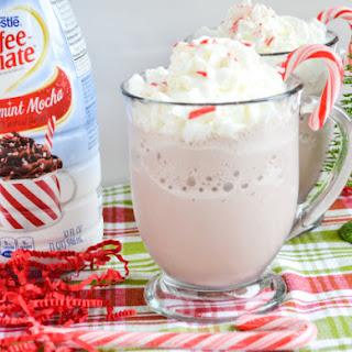 Peppermint Mocha Frozen Hot Chocolate