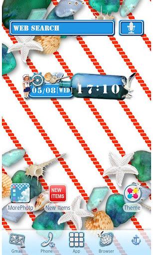 Blue Marina Wallpaper Theme 1.8 Windows u7528 1