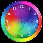 Rainbow Clock Widget icon
