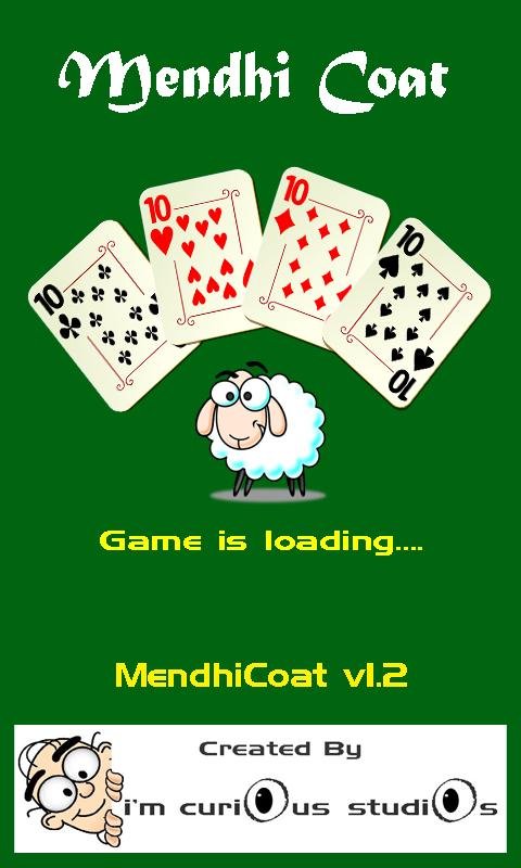 MendhiCoat Card Game - screenshot