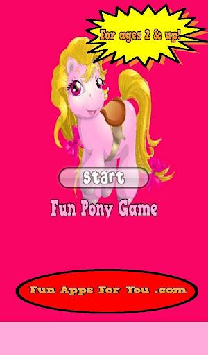 Fun Pony Match Game