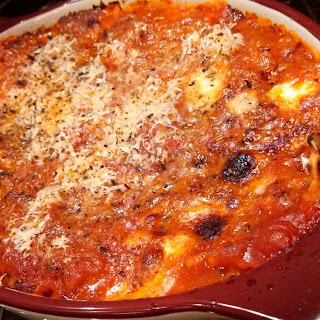 Meatless Monday ~ Easy Baked Ravioli
