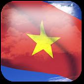 3D Vietnam Flag LWP +