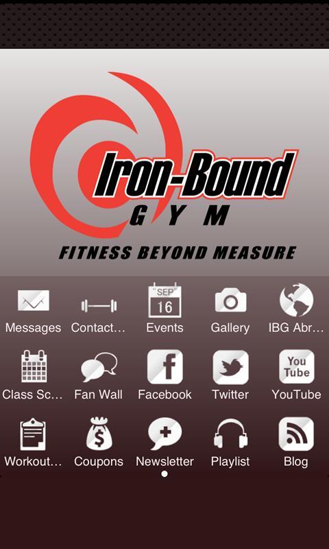 Iron-Bound Gym- screenshot
