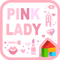 Pink Lady dodol launcher theme icon