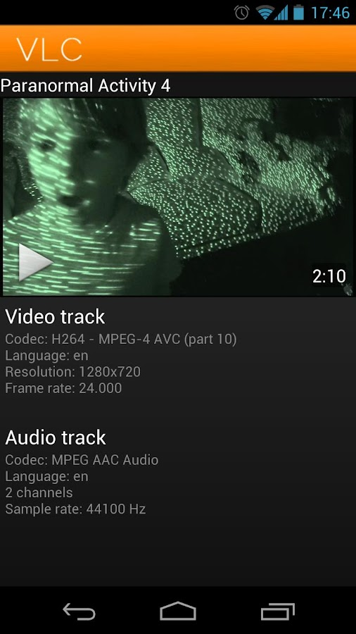 VLC for Android Beta - screenshot