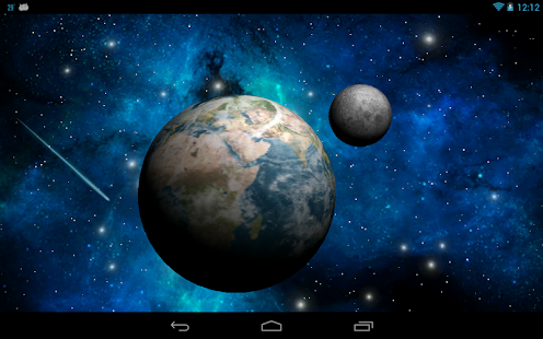 3D Space  Live Wallpaper Free - screenshot thumbnail