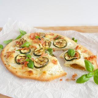 Pizza Bianca with Zucchini