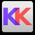 Transparent Keyboard Phone icon